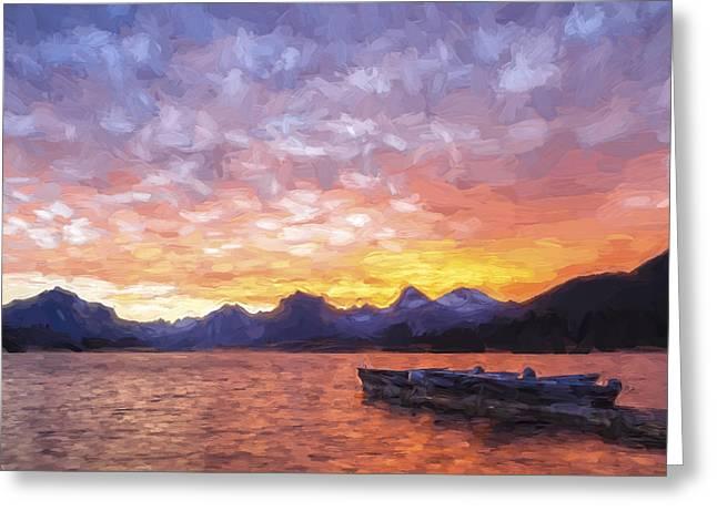 Morning Light Iv Greeting Card by Jon Glaser