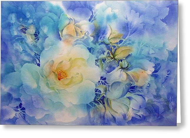 Morning-light Greeting Card by Nancy Newman
