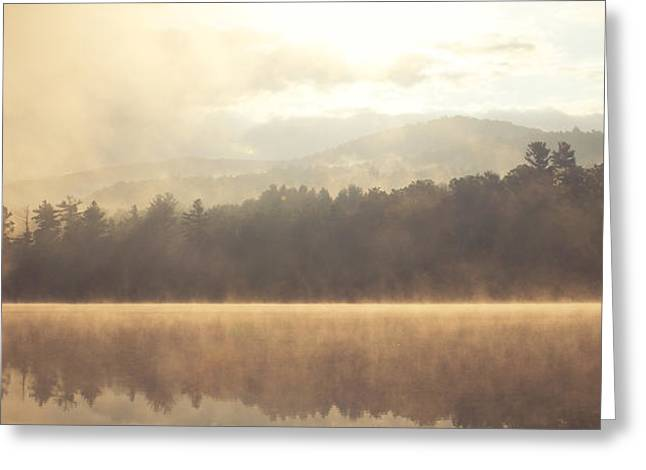 Morning Light Over The Mountains Greeting Card by Stephanie McDowell