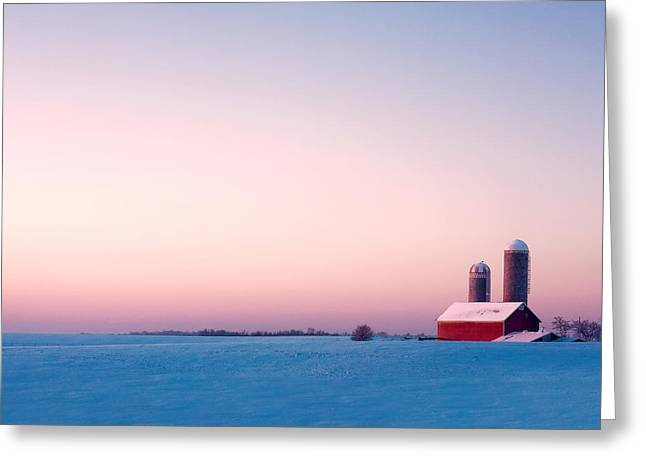 Morning Light Greeting Card by Todd Klassy