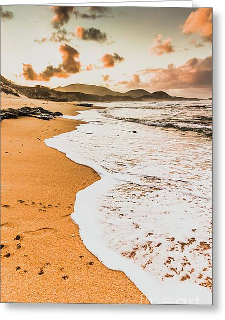 Morning Marine Wash Greeting Card