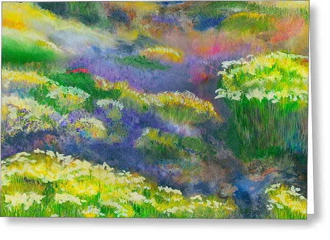 Morning Mist Greeting Card by Michael Durst