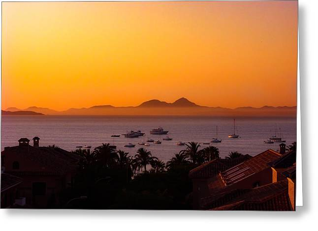 Greeting Card featuring the photograph Morning Mist by Scott Carruthers