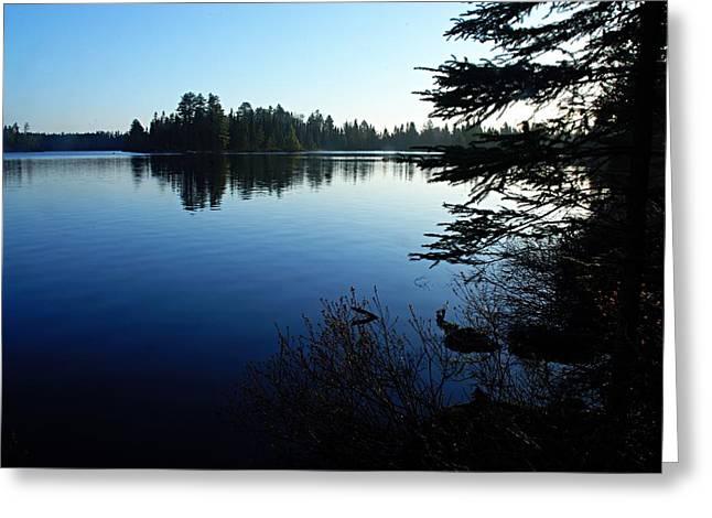 Morning On Chad Lake Greeting Card