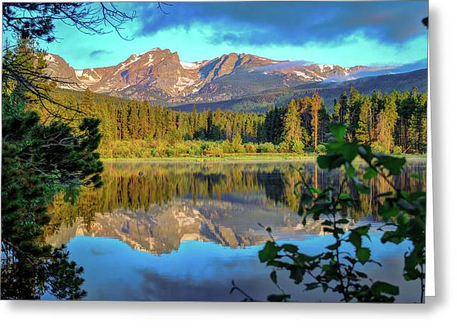 Morning On Sprague Lake - Rocky Mountain National Park Greeting Card by Gregory Ballos