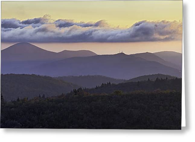 Rob Travis Greeting Cards - Morning on the Blue Ridge Parkway Greeting Card by Rob Travis