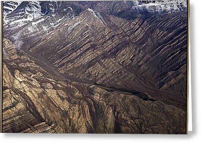 Morning On The Ladakh Mountains.  Greeting Card