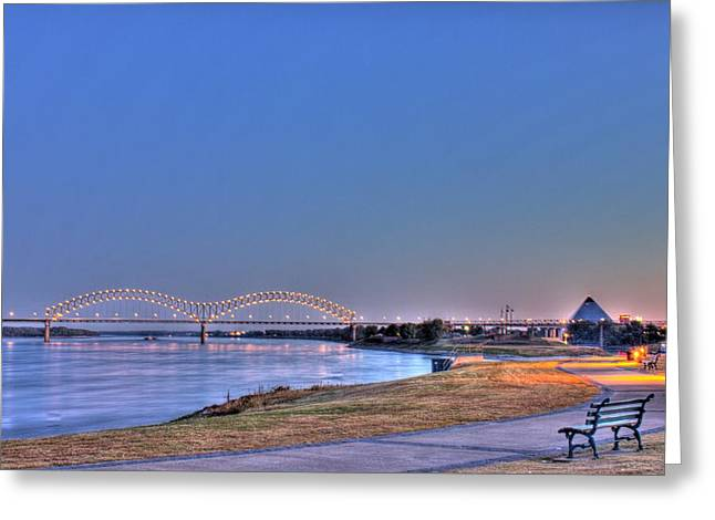 Morning On The Mississippi Greeting Card by Barry Jones