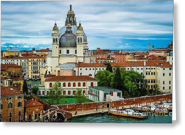 Morning Over Venice Greeting Card by Ken Andersen
