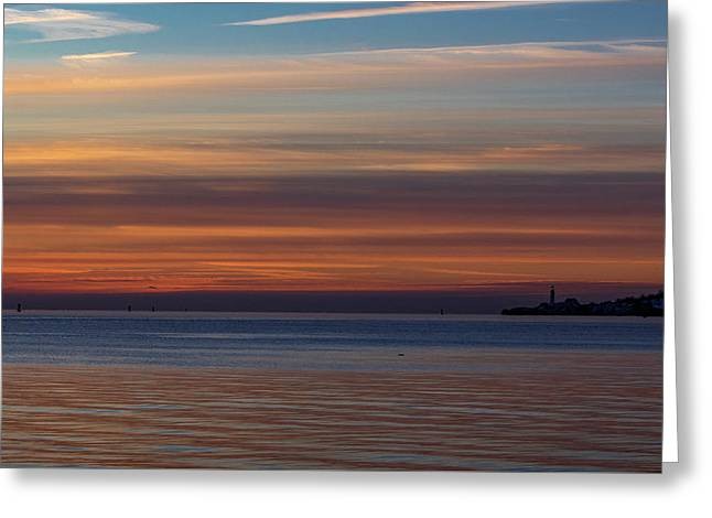 Greeting Card featuring the photograph Morning Pastels by Darryl Hendricks