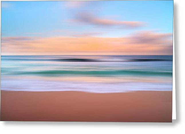 Morning Pastels Greeting Card by Sean Davey
