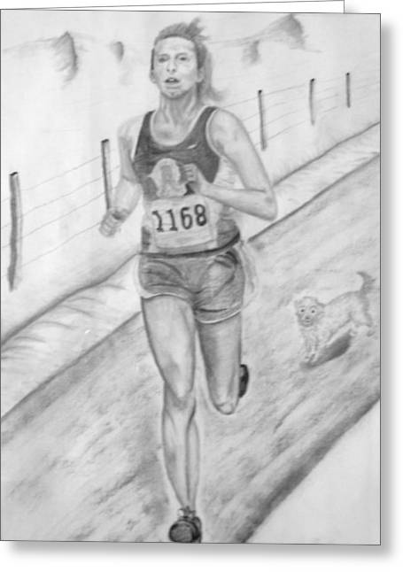 Morning Race Greeting Card by Russ  Smith