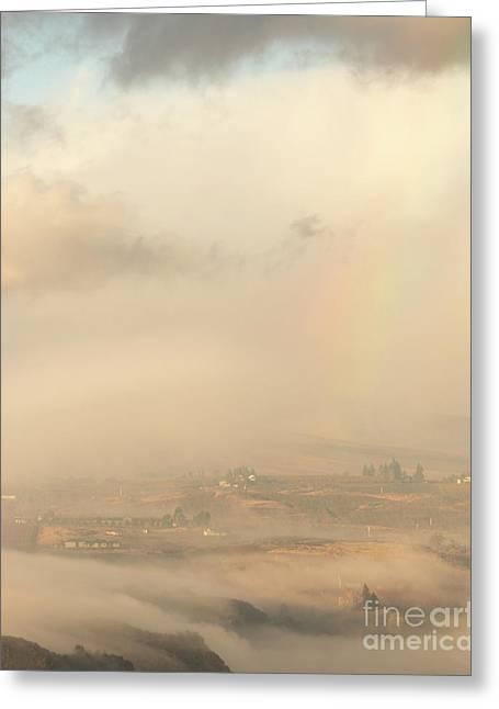 Morning Rainbow Greeting Card