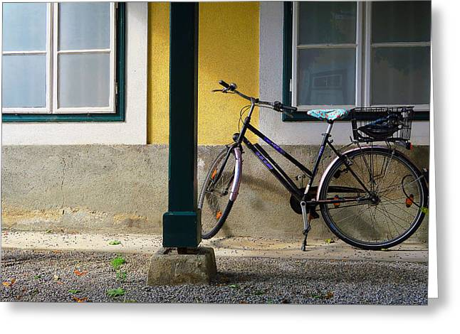Morning Ride Greeting Card by Christian Slanec