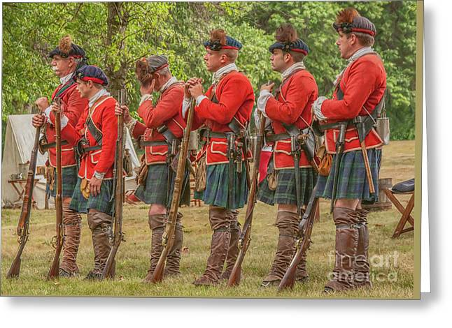 Greeting Card featuring the digital art Morning Roll Call  by Randy Steele