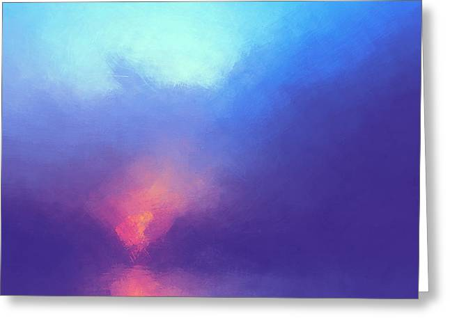 Morning Song Greeting Card by Lonnie Christopher