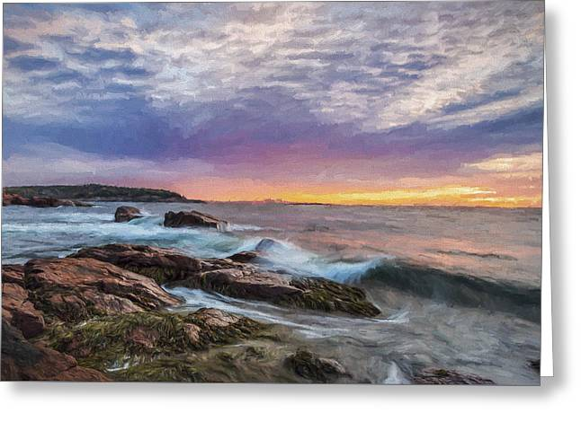 Morning Splash II Greeting Card by Jon Glaser