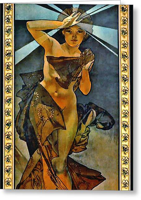 Morning Star 1902 Greeting Card by Padre Art