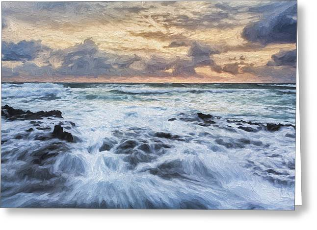 Morning Strength II Greeting Card by Jon Glaser
