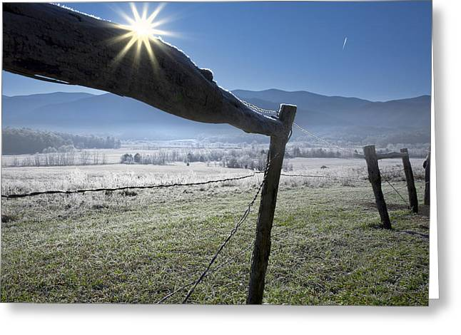 Greeting Card featuring the photograph Morning Sun by Ken Barrett