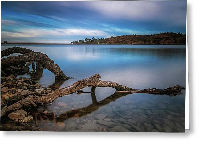 Morning Sunrise On The Lake Greeting Card by Doug Barr