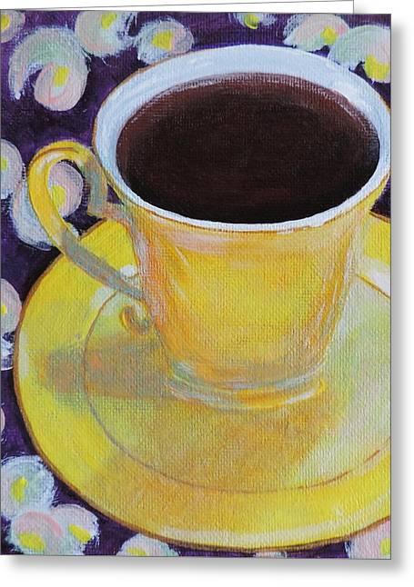 Morning Sunshine Greeting Card by Margaret Bobb
