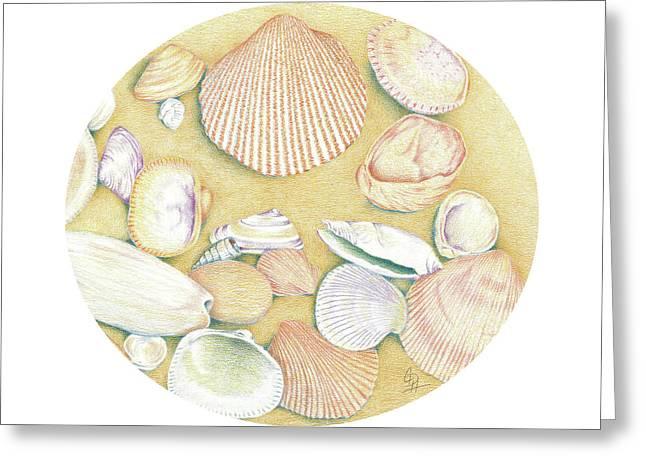Morning Treasures I Greeting Card by Christel Huttar
