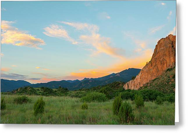 Greeting Card featuring the photograph Morning View by Tim Reaves