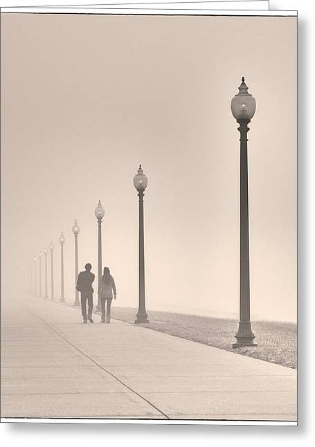 Morning Walk Greeting Card by Don Spenner