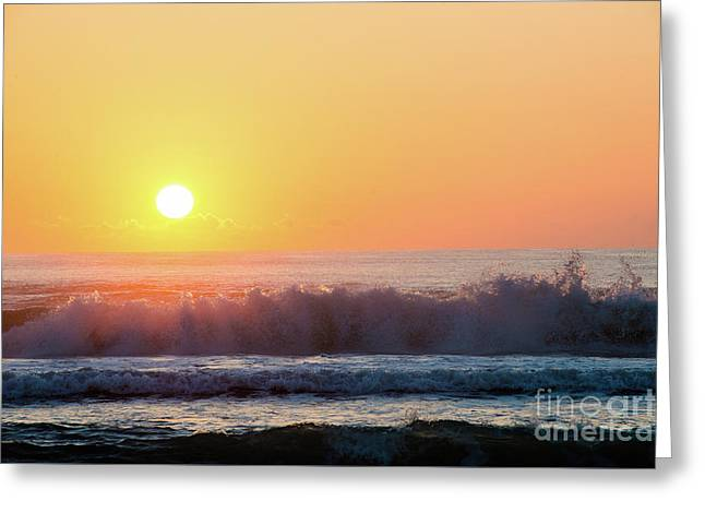 Morning Waves Greeting Card