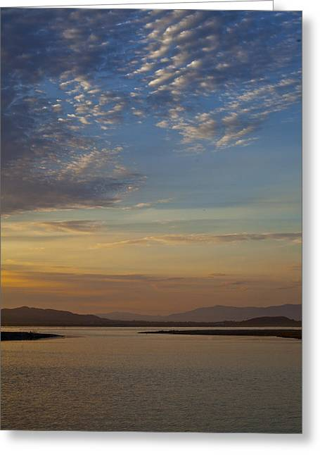 Morning's Colors Greeting Card by Richard Stephen