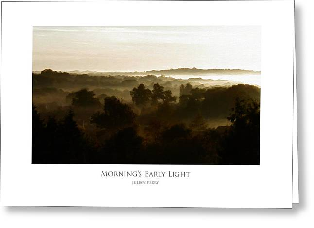 Morning's Early Light Greeting Card