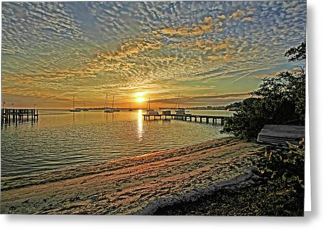 Mornings Embrace Greeting Card by HH Photography of Florida