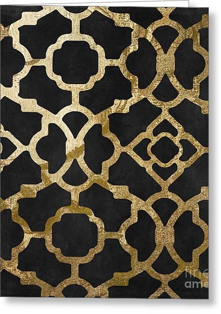 Moroccan Gold IIi Greeting Card