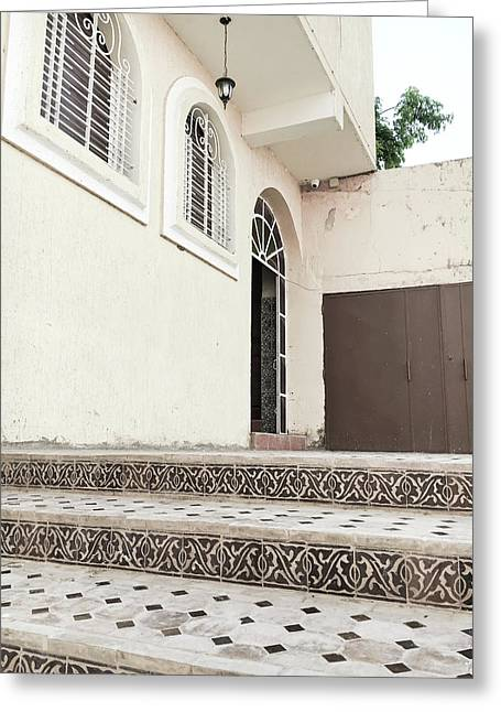 Moroccan House Greeting Card