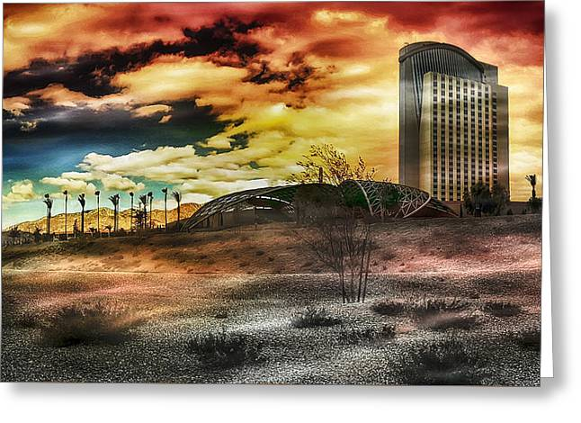 Morongo Casino Sunset Greeting Card