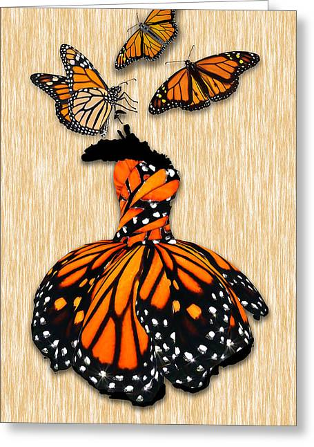 Greeting Card featuring the mixed media Morphing by Marvin Blaine