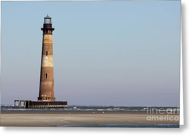 Morris Island Lighthouse South Carolina Greeting Card by Dustin K Ryan
