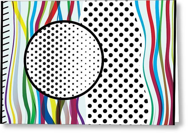 Morris Pop-art Greeting Card