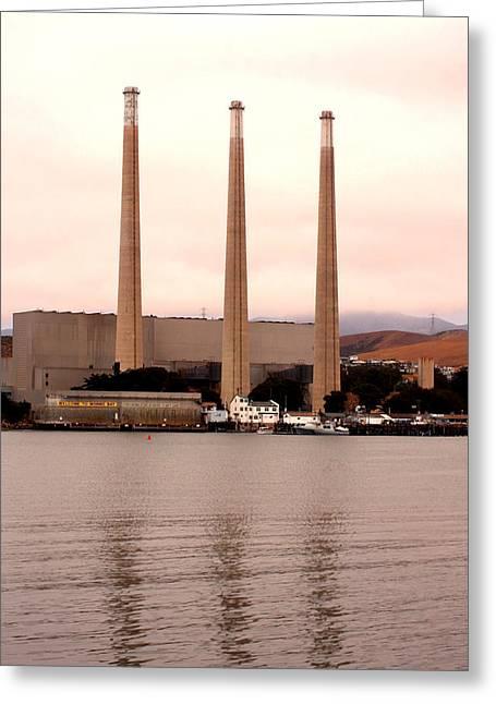 Morro Bay Power Greeting Card