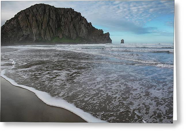 Morro Rock Landscape Greeting Card