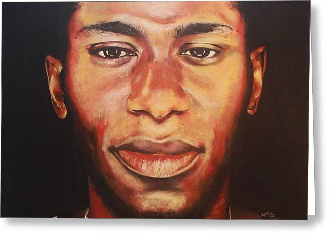 Mos Def Greeting Card by Lakeisha Phillips