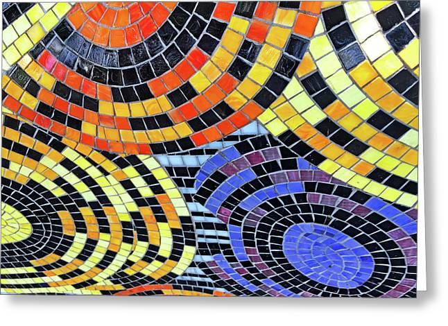 Mosaic No. 113-1 Greeting Card