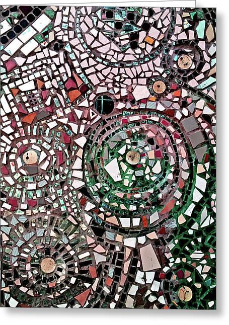 Mosaic No. 26-1 Greeting Card