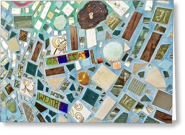 Mosaic No. 6-1 Greeting Card