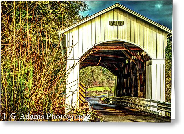 Mosby Creek Bridge Greeting Card