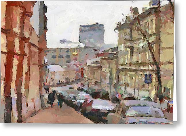 Moscow 14 Greeting Card by Yury Malkov