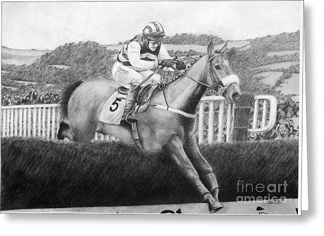 Moscow Flyer Greeting Card by Stuart Attwell