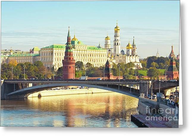 Moscow, Kremlin Greeting Card