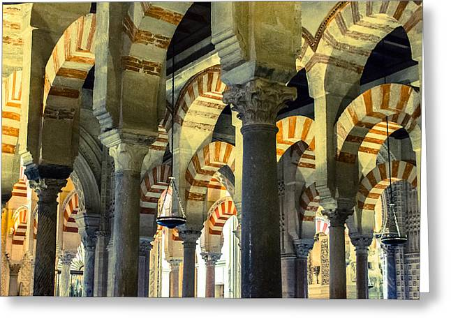 Mosque Cathedral Of Cordoba 2 Greeting Card